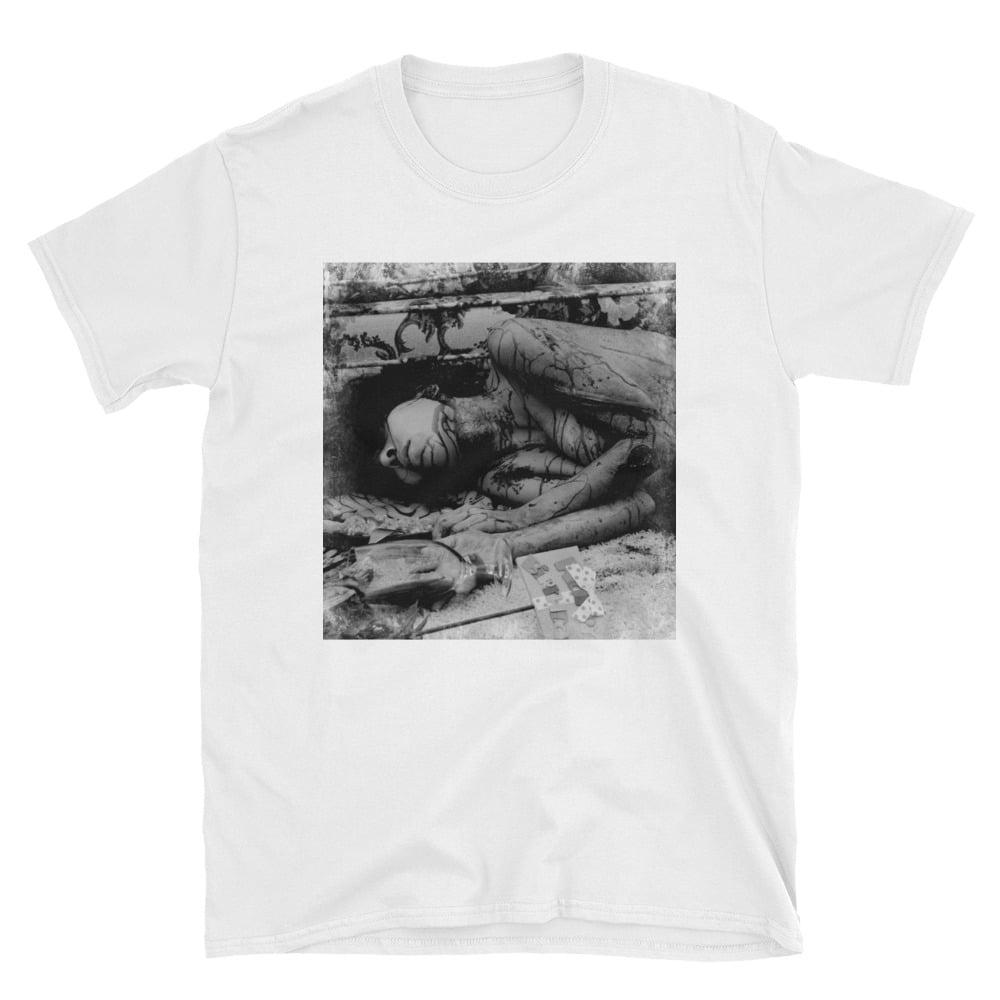 Image of Death Day White Unisex Tshirt