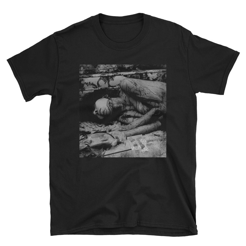 Image of Death Day black unisex T-shirt