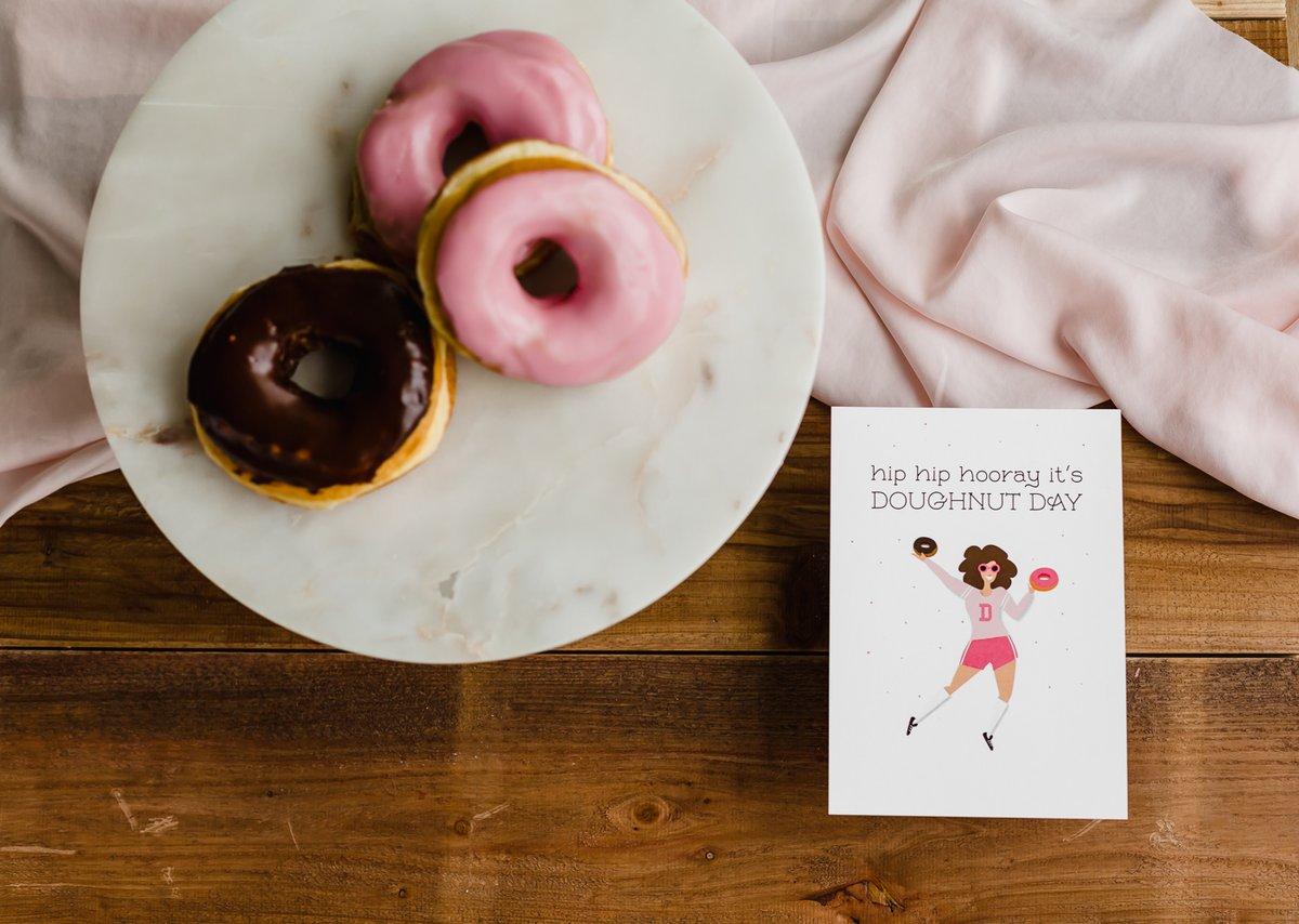 It's Doughnut Day Note Card
