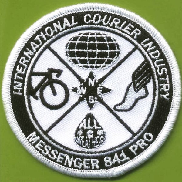 Image of Messenger 841 Pro International Courier Industry Patch