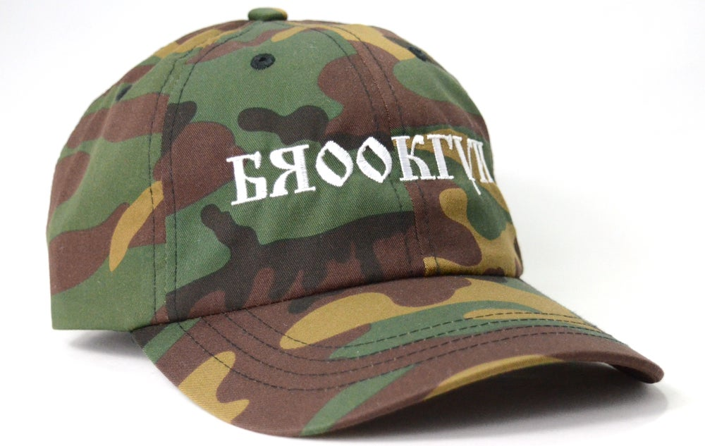Image of RUSSIAN LETTERS (CAMO) - DAD HAT