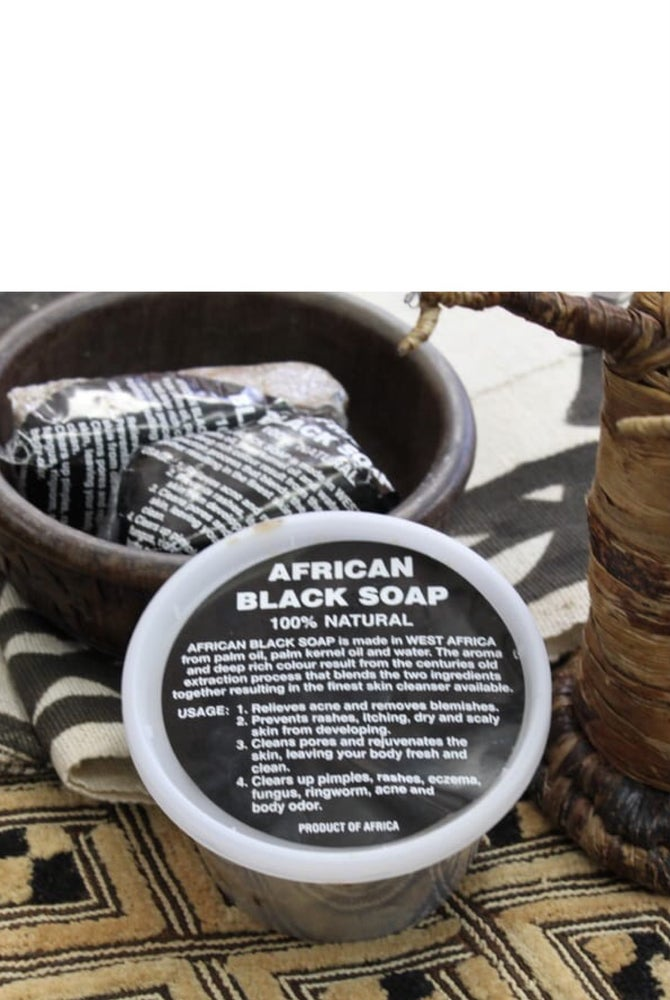 Image of African Handmade Black Soap (paste)