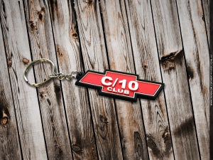 Image of C10 Club   keychain