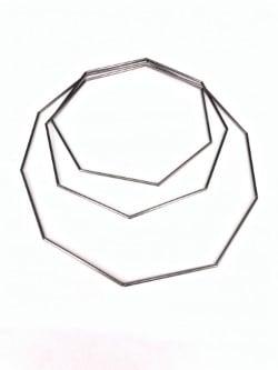 Image of Collaret geomètric 3 voltes. Collar geométrico 3