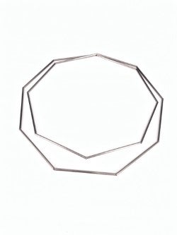 Image of Collaret geomètric 2 voltes. Collar geométrico 2