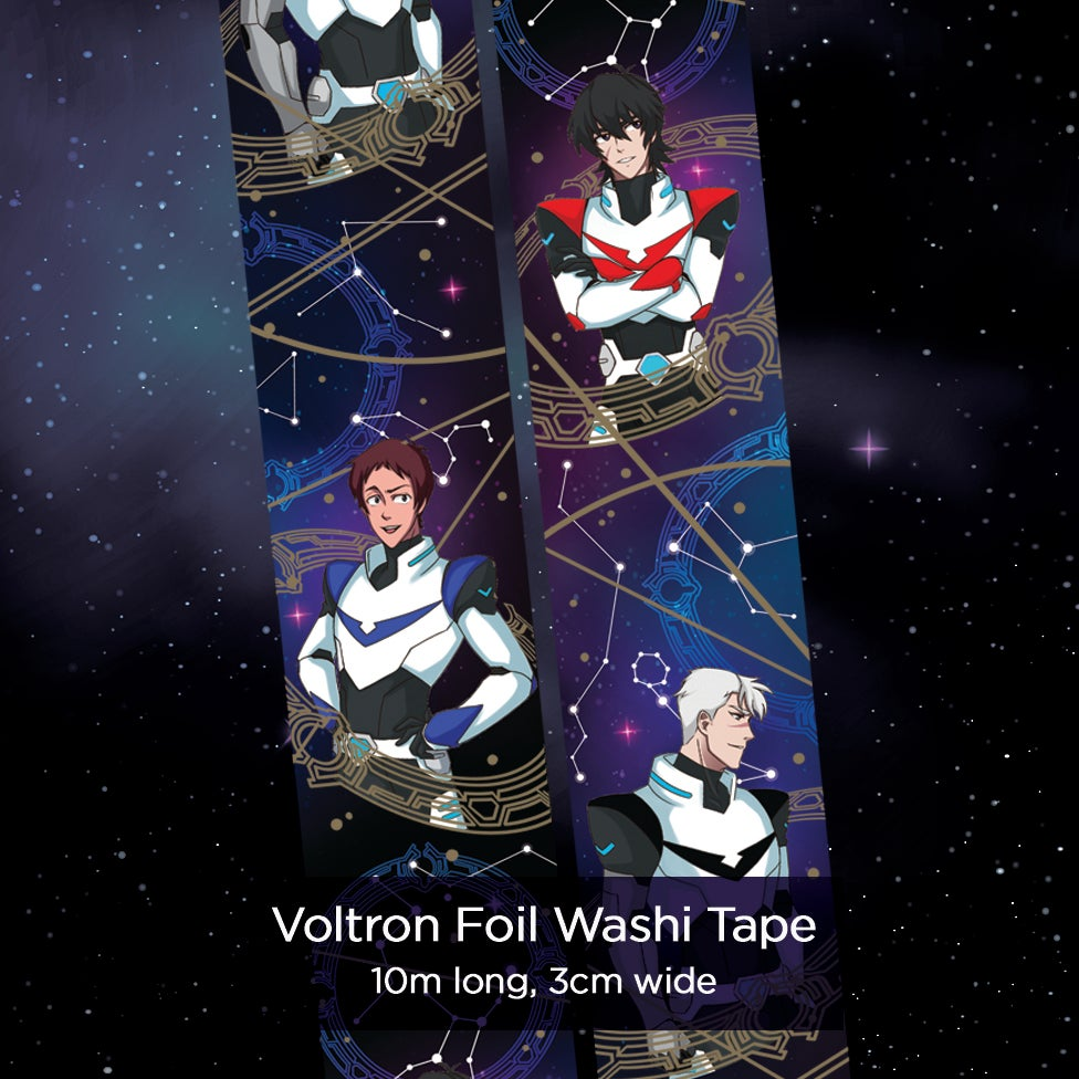 Image of Voltron - Gold Foil Washi Tape