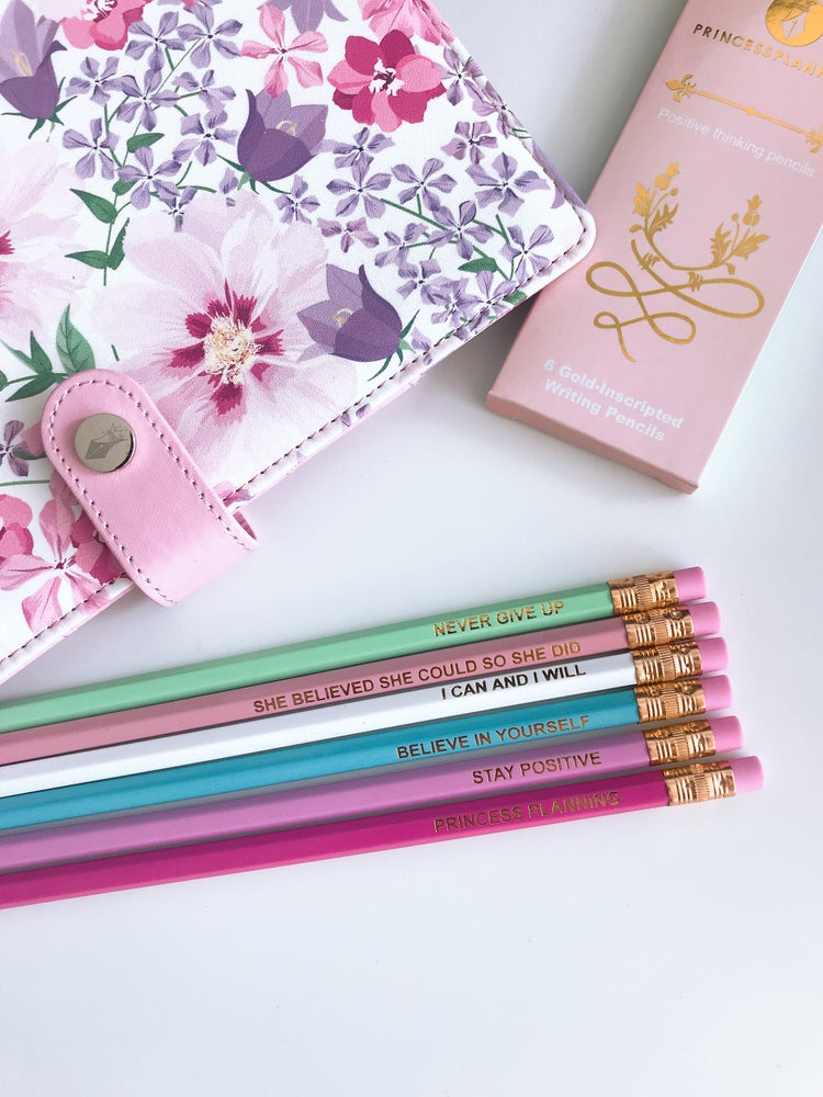 Image of POSITIVE THINKING PENCILS 💖