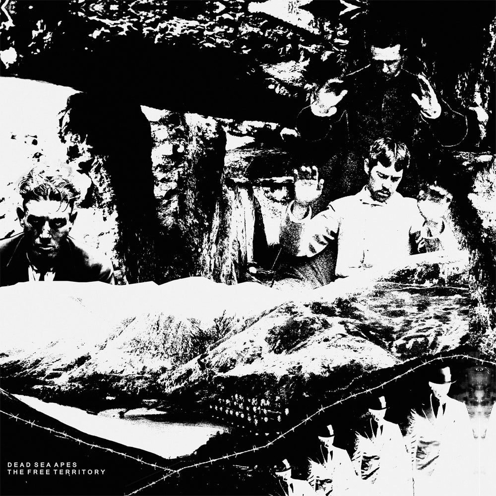 Dead Sea Apes - The Free Territory (2xLP) CARDINAL FUZZ 1 Copy Left