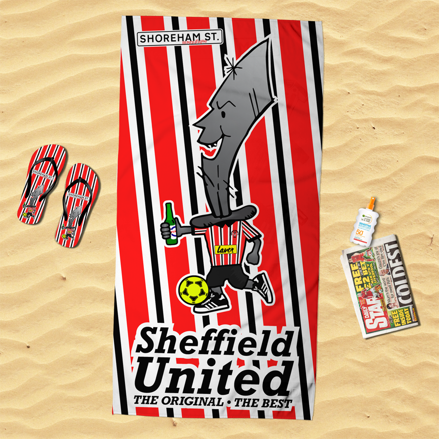 Image of Bertie Blade Beach Towel