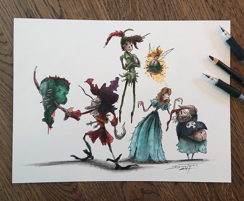 Image of #90 Peter Pan Creepyfied