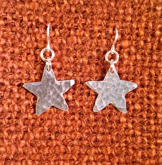 Image of Mini Star Earrings