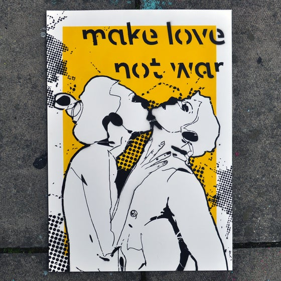 Image of Make love not war