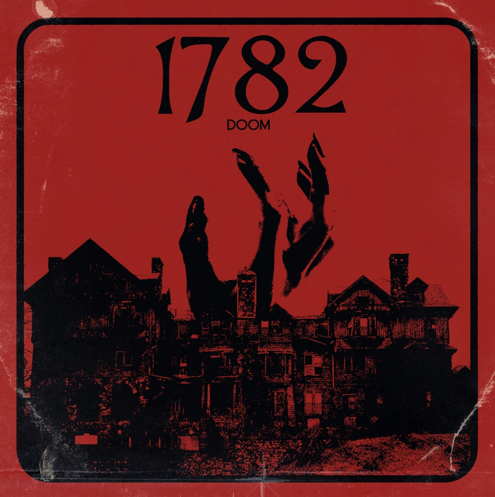 Image of 1782 - 1782 Trasparent Red Splatter Vinyl