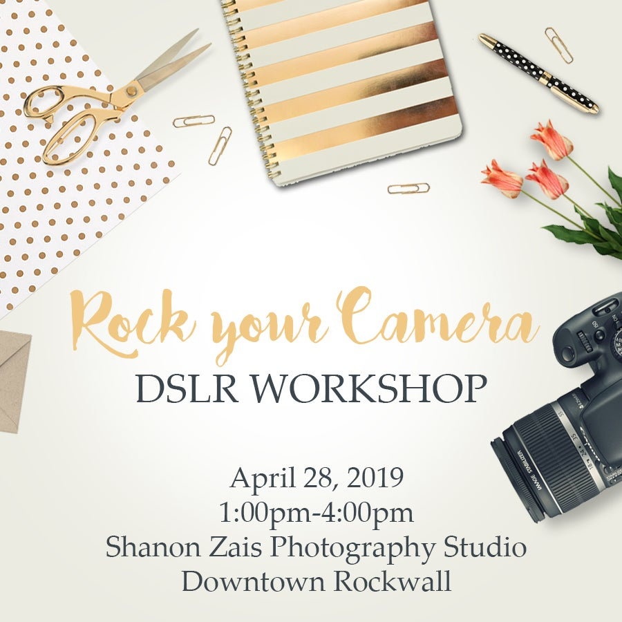 Image of DSLR One Day Workshop-April 28th