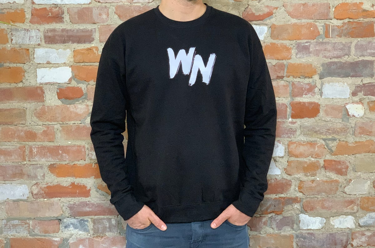 Image of Wing Night (the band) Logo Crewneck