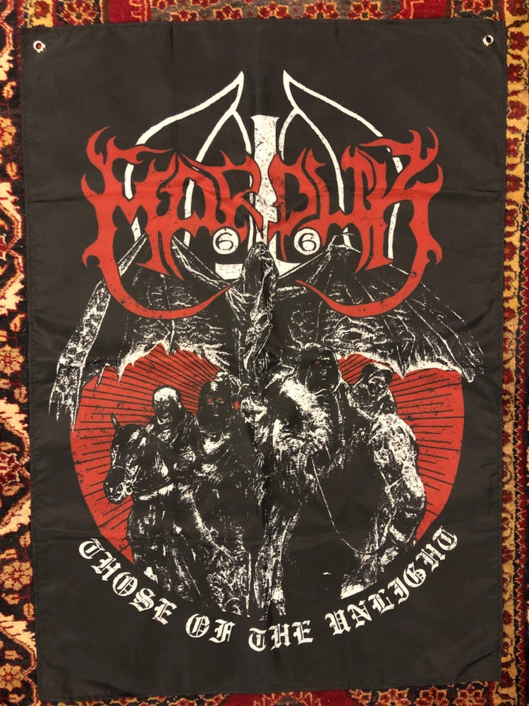 Image of Marduk - Those Of The Unlight poster flag