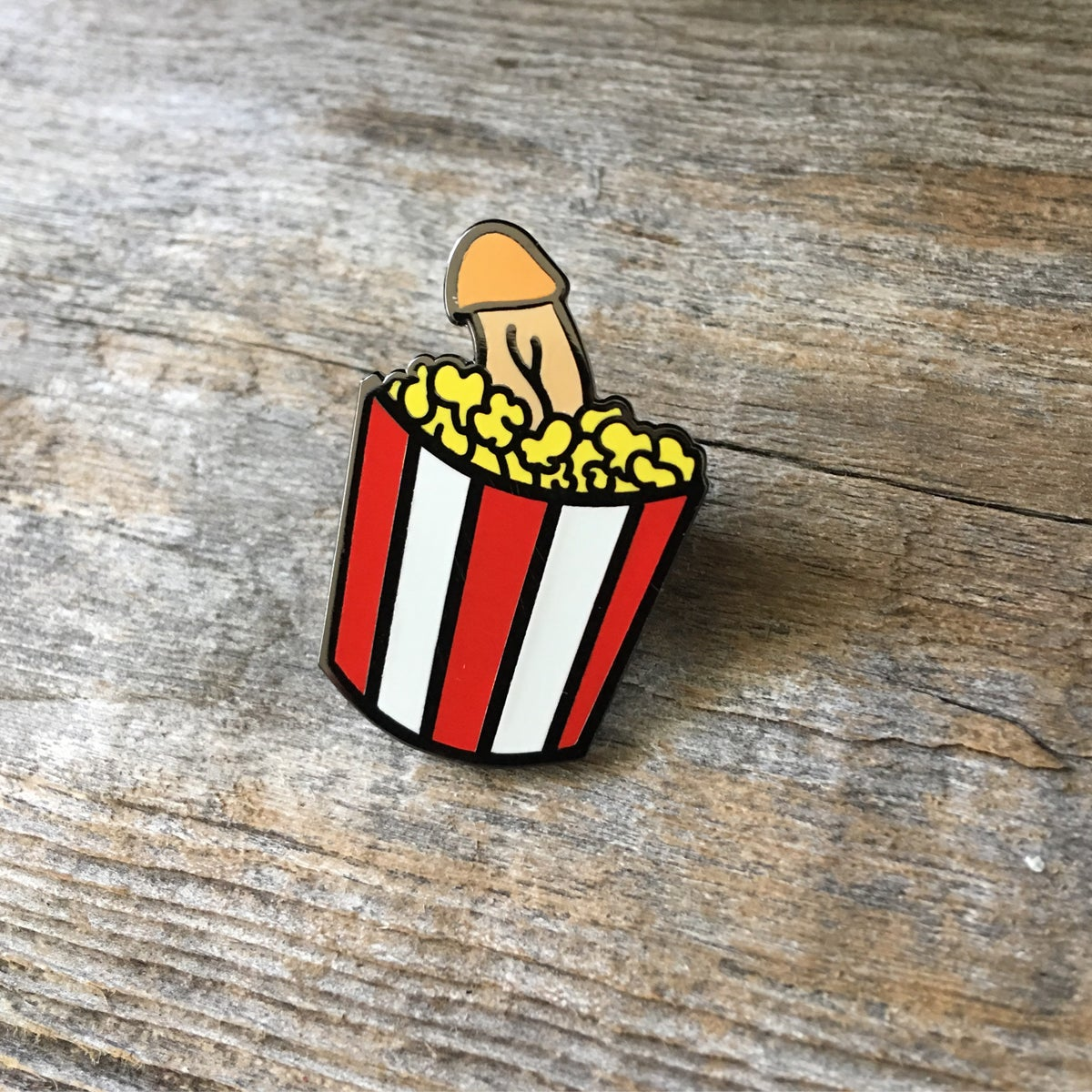 Image of Buttery Surprise Lapel Pin
