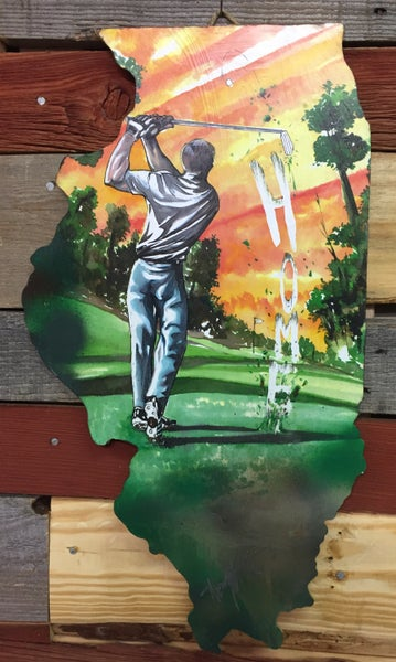 Image of Golfing For Home Illinois