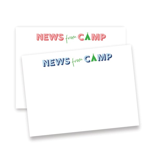 Image of Camp News Blank Notecards