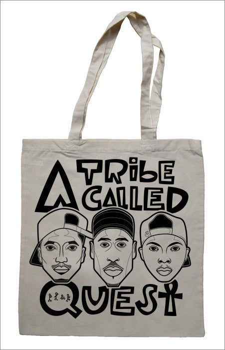 Image of Tote Bag (ATCQ /Stevie / GSH / De La / Marley)