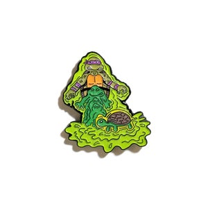 Image of Mutation Donnie lapel pin