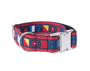 """Image of Nautical Flag/red. 1 1/2"""" in the category  on Uncommon Paws."""