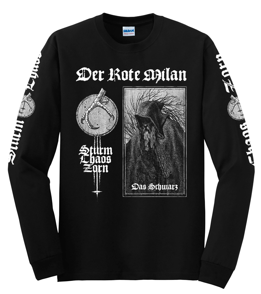 "Image of Der Rote Milan - ""Sturm Chaos Zorn"" Long Sleeve"