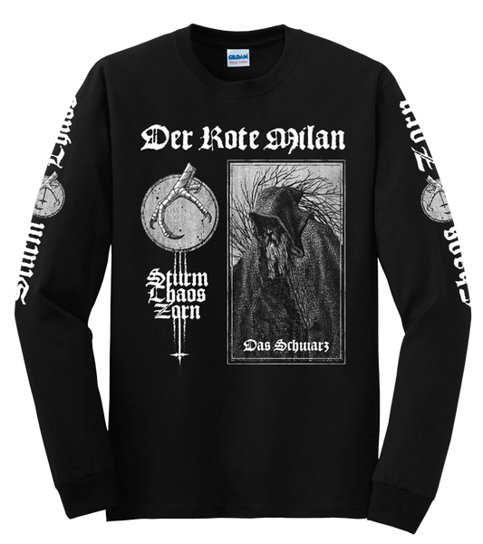 "Image of Der Rote Milan - ""Sturm Choas Zorn"" Long Sleeve"