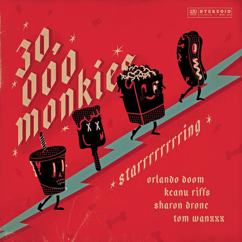 "Image of 30.000 Monkies 'Starrrrrrrring' 10"" EP"
