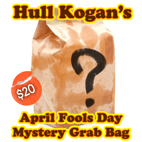 Image of Hull Kogan's April Fools Day Mystery Grab Bag