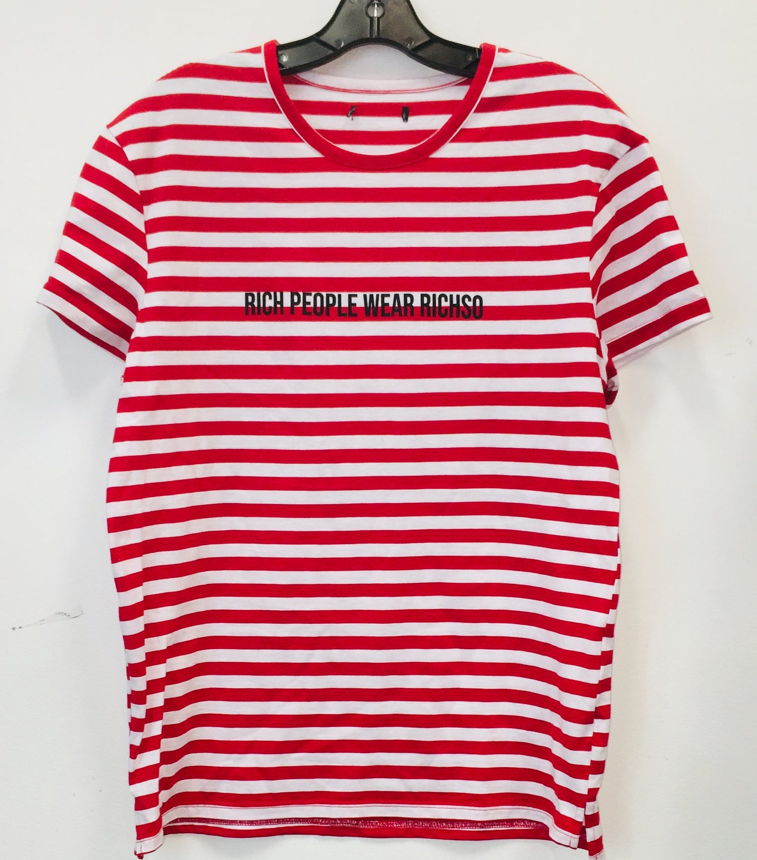 Image of RICH PEOPLE (red/white striped)