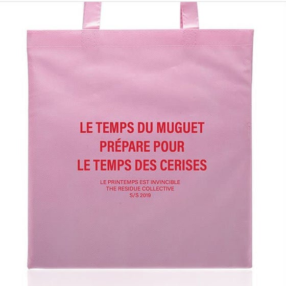Image of S/S 2019 SPRING IS INVINCIBLE PINK BAG