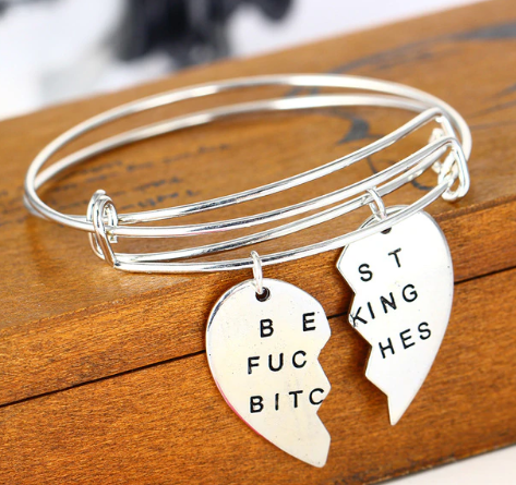 Image of Go BEST FRIEND Charming Bracelet