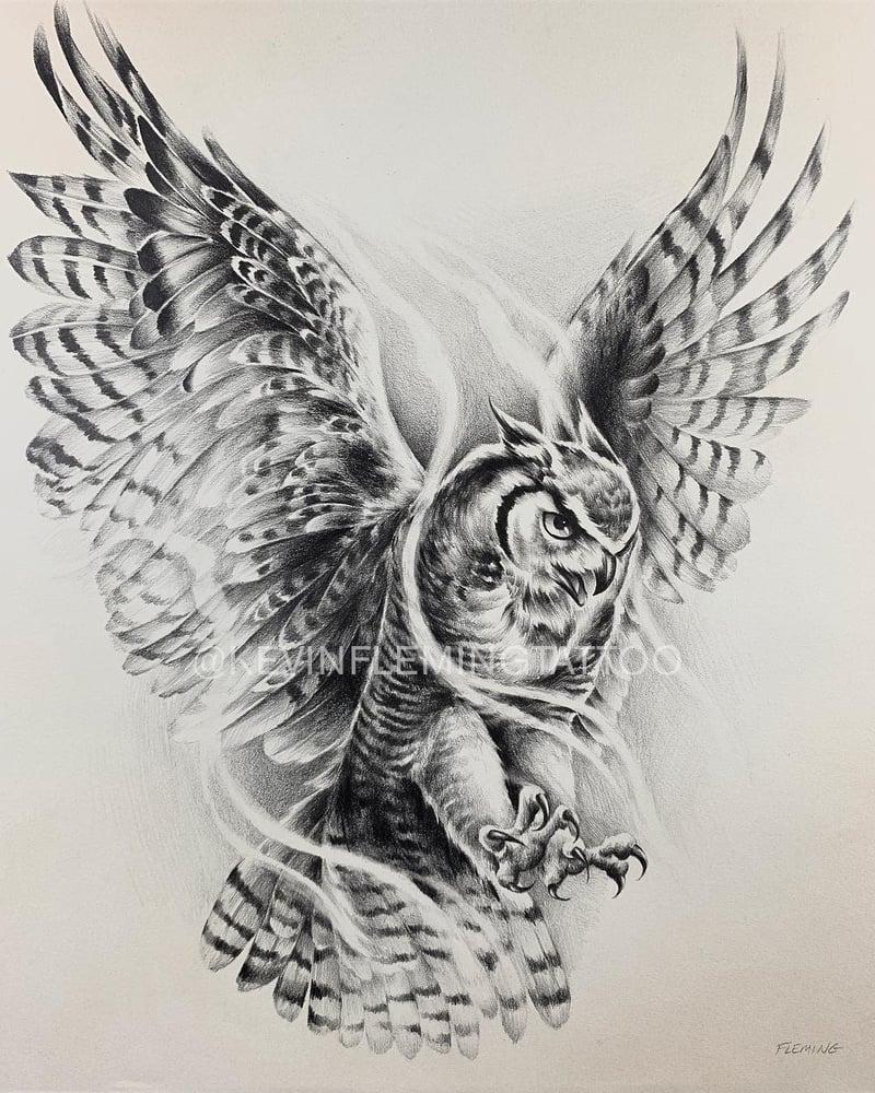 """Image of """"OWL"""" Original"""