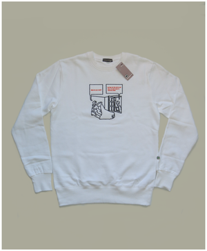 Image of 'CURED ALRIGHT' SWEATSHIRT