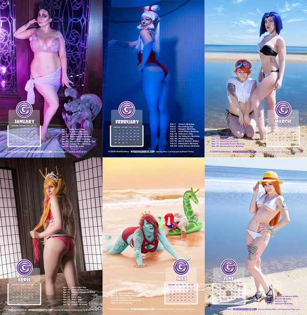 Image of 2019 Calendar: Swimsuits