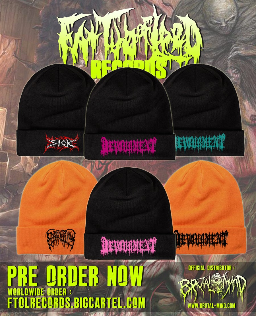 Image of Officially Licensed Devourment/Epicardiectomy/Sick beanies!!