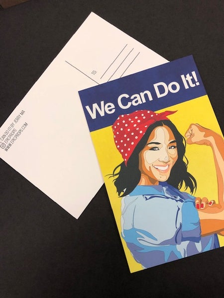 Image of We Can do It Postcard