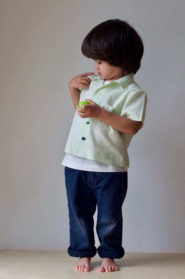 Image of Pre-School Shirt - Lime