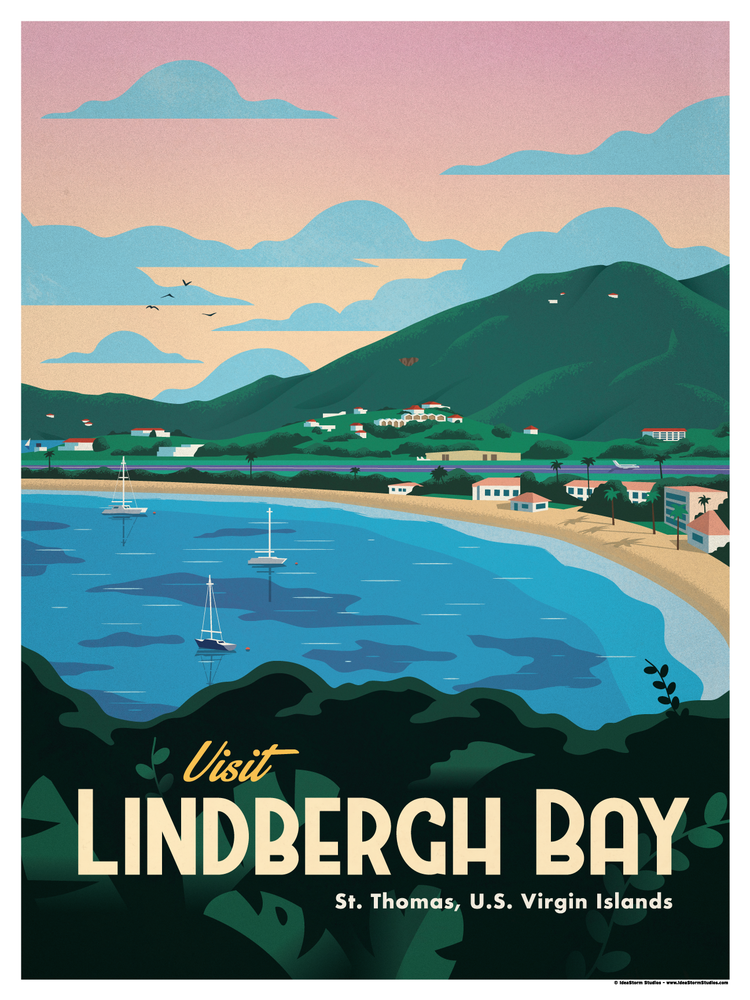 Image of Lindbergh Bay Poster