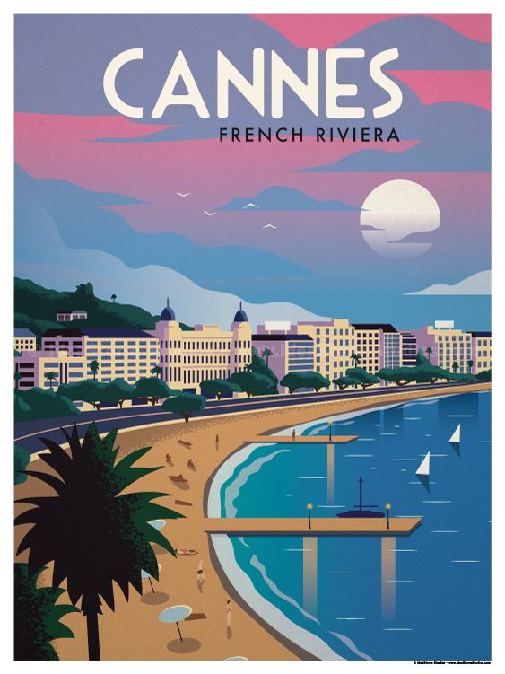 Image of Cannes Poster