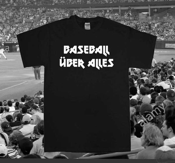 Image of BASEBALLUBER ALLES INVADERS T SHIRT