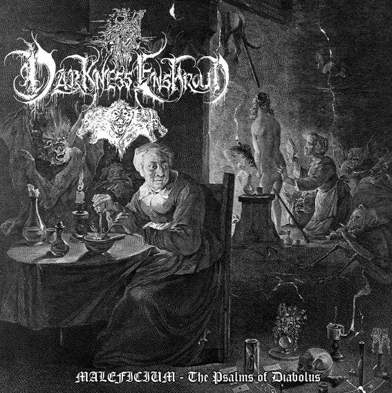 "Image of Darkness Enshroud - ""MALEFICIUM - The Psalms of Diabolus"" CD"