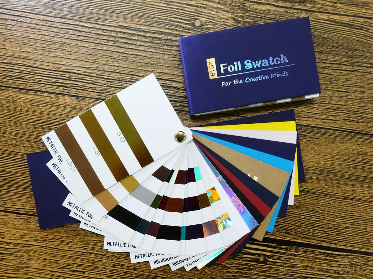 Image of Foil Colour Swatch