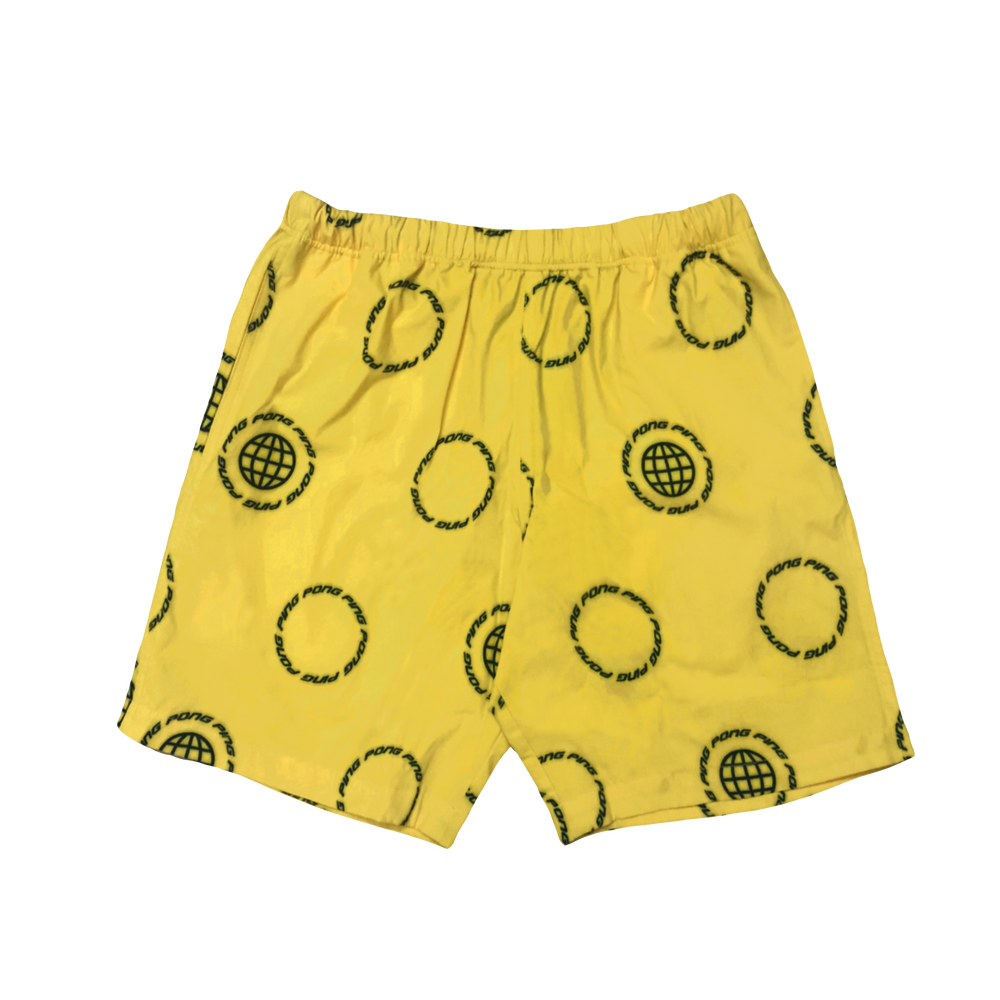 Image of GLOBAL Shorts Yellow