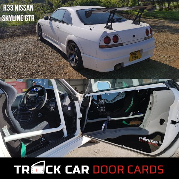 Image of Nissan Skyline R33 GTR Track Car Door Cards