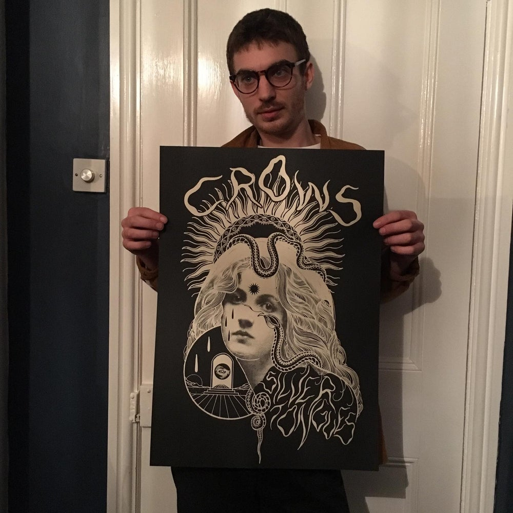 Image of SILVER TONGUES POSTER