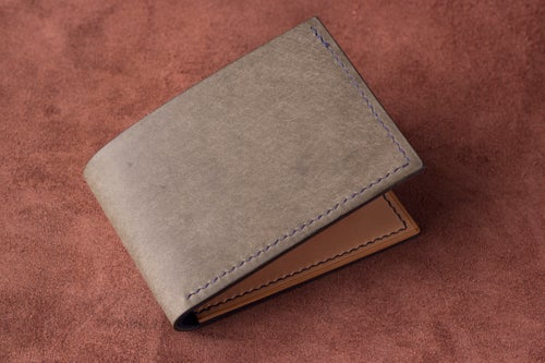 Image of Bifold <br> Grey Pueblo and Natural/Blue Buttero