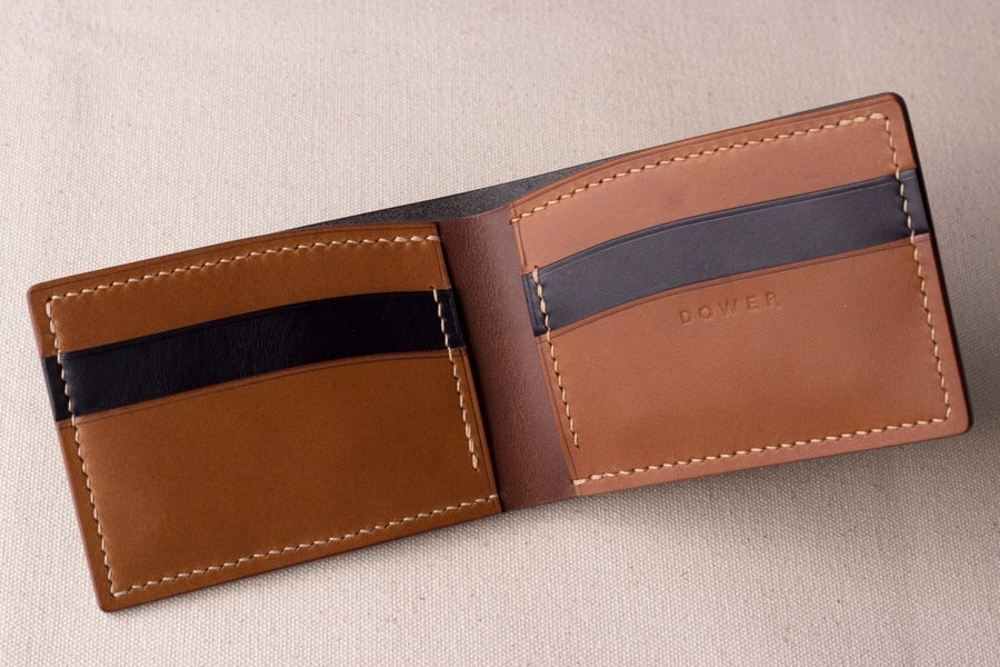 Image of Bifold<br>Dark Brown/Whiskey/Black Buttero