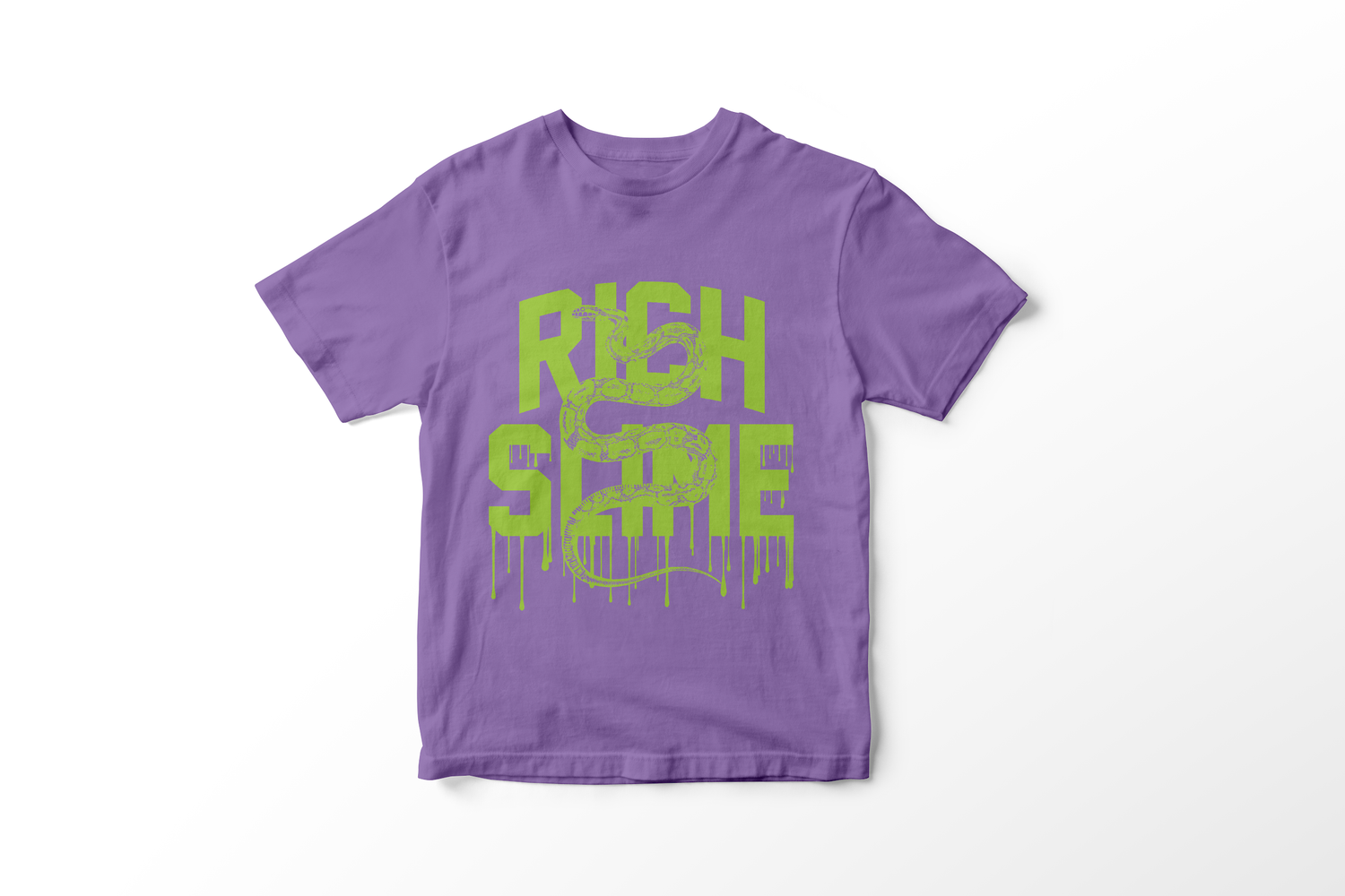 Image of RICH SLIME (heather purple/lime